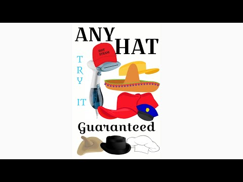 How to remove sweat rings from hats in 15 seconds