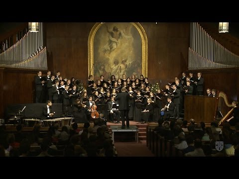 """Requiem for the Living"" by Dan Forrest COMPLETE performance by Bob Jones University Chorale"