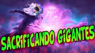 * MAGO KHADGAR GIGANTES * SACRIFICANDO ESBIRROS PODEROSOS | HEARTHSTONE