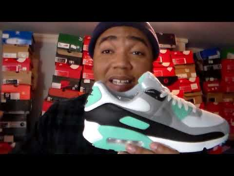 SPRING HEAT NIKE AIR MAX 90 TURQUOISE + COMPARISON
