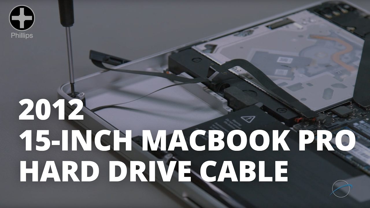 Macbook pro 2012 hard drive replacement