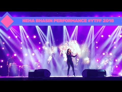 YOUTUBE FANFEST 2018 NEHA BHASIN FULL LIVE...