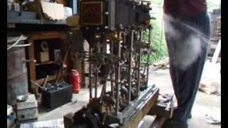 Elliot Bay Triple Expansion steam engine...