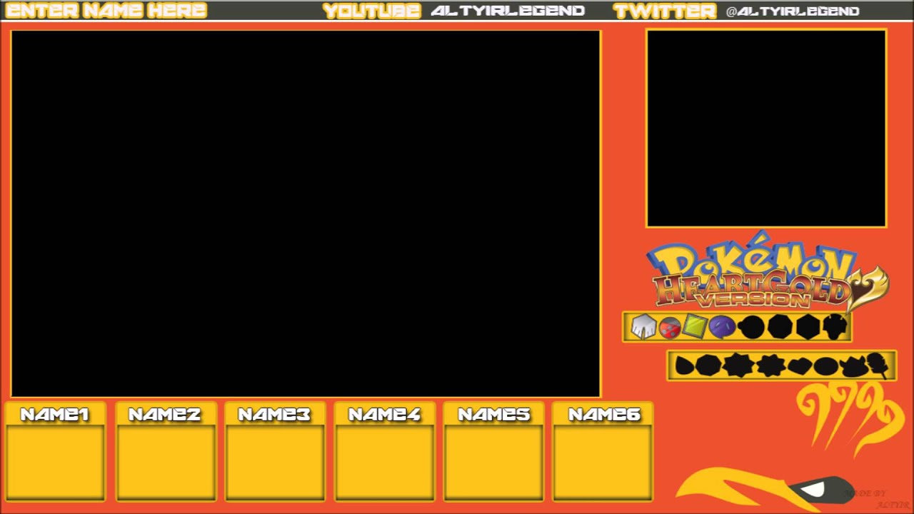 Pokemon Hg Amp Ss Let S Play Template Youtube