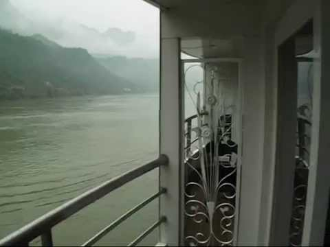 Our accommodation on the M.S. Yangtze 2