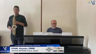 Alejandro Cosano – Fantasie Impromptu by André Jolivet