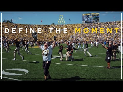 Define the Moment - Appalachian State Football
