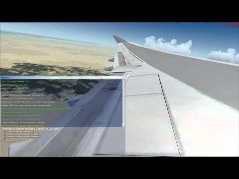 FSX Taking off from Heydar Aliyev Intl to Princess Juliana International Airport HD.