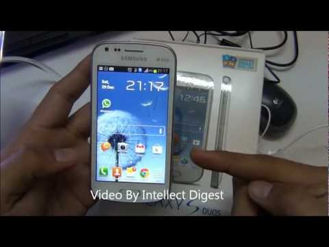 Samsung Galaxy S Duos S7562 Detailed User Review