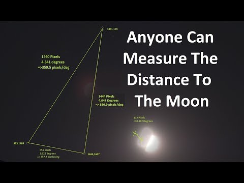 How Anyone Can Measure The Distance To The Moon Using Cameras