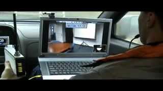 Testovanie mobilnej videokonferencie cez Flash OFDM sieť, marec 2008