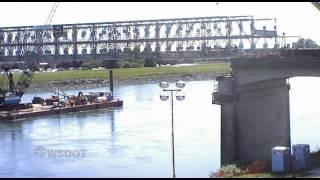 I-5 Skagit River Bridge Time-lapse In Hd