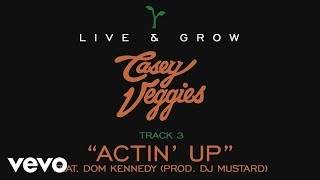 "Casey Veggies - Live & Grow track by track Pt. 3 - ""Actin"