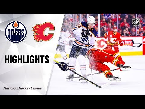 NHL Highlights | Oilers @ Flames 1/11/20