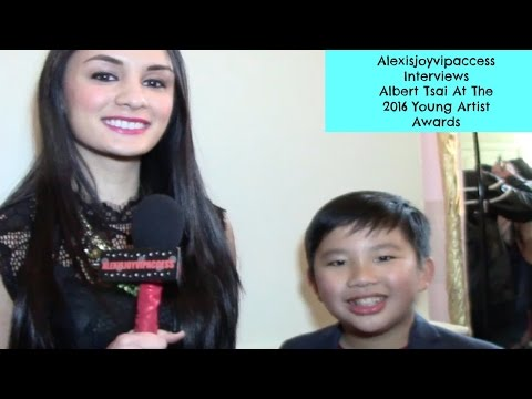 Dr. Ken's Albert Tsai Interview With Alexisjoyvipaccess At The 2016 Young Artist Awards