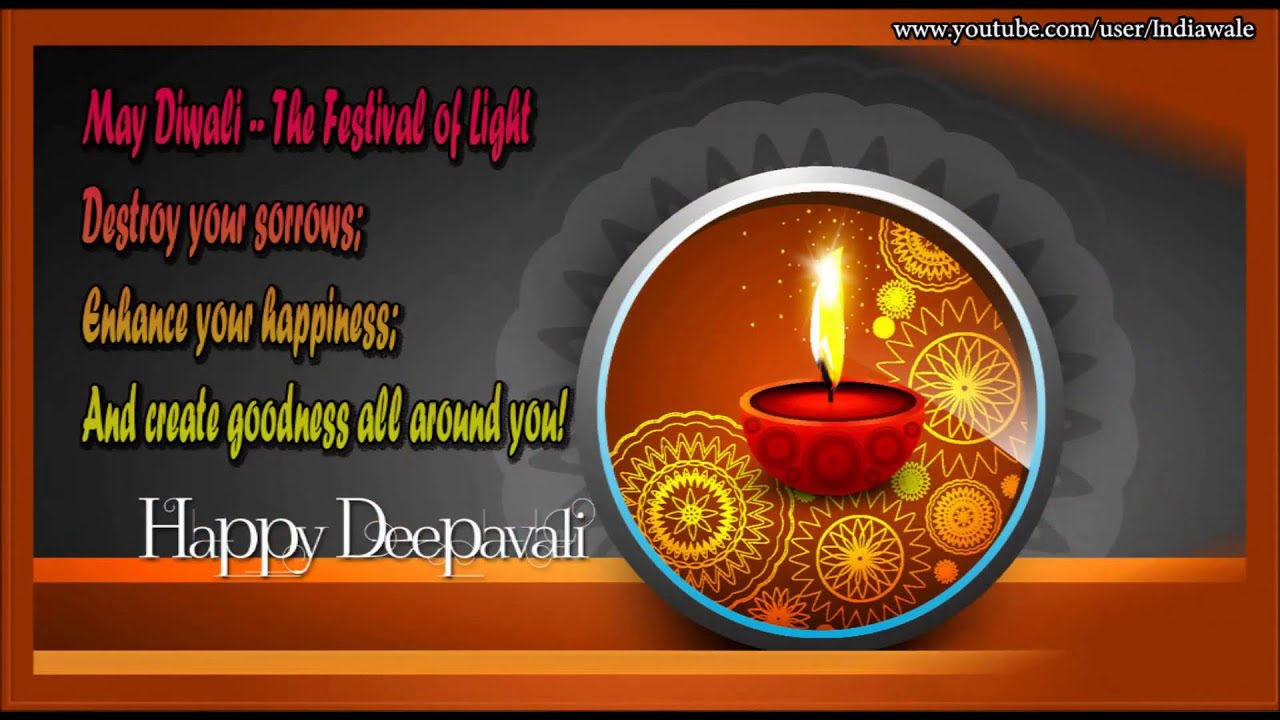 Happy diwali greeting cards 2016 wish you a happy deepawali youtube m4hsunfo