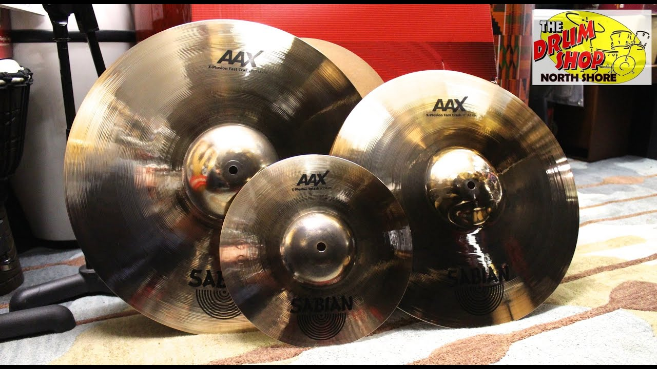 sabian aax x plosion crash pack the drum shop north shore youtube. Black Bedroom Furniture Sets. Home Design Ideas