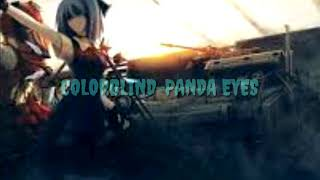 COLORBLIND-PANDA EYES