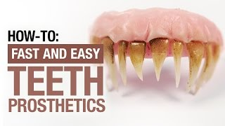 How-to: Teeth prosthetics, the simple way