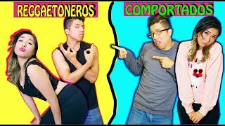 COMPORTADA VS REGGAETONERO | Palomitas Flow