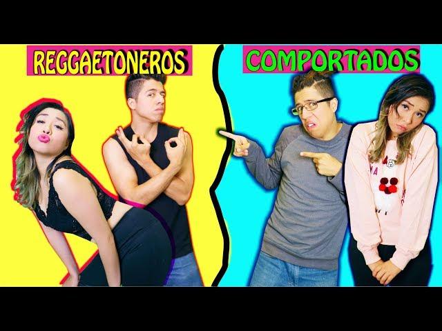 COMPORTADA VS REGGAETONERO | Palomitas Flow