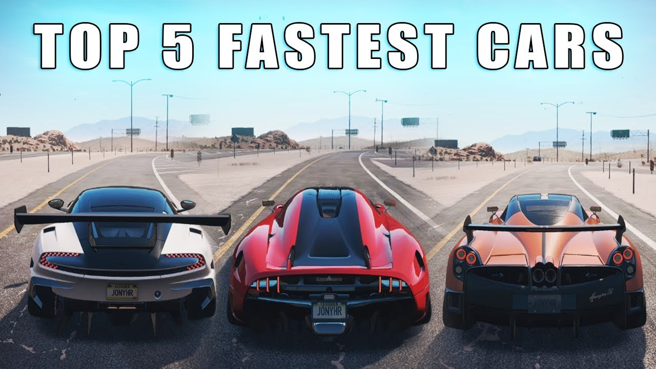 Nfs Payback Top 5 Fastest Cars Youtube