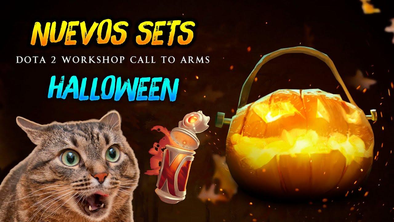 Nuevos Sets para HALLOWEEN ► Temporada de Otoño Call To Arms 😍 | Dota 2
