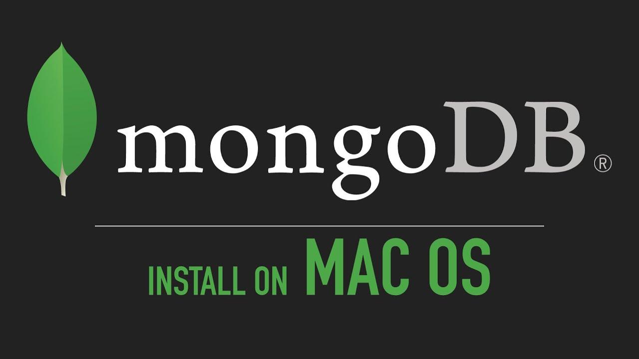 Download mongodb macos installer