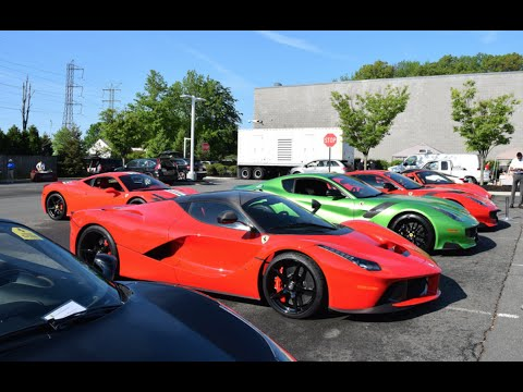 Cars & Coffee at Ferrari of Central New Jersey