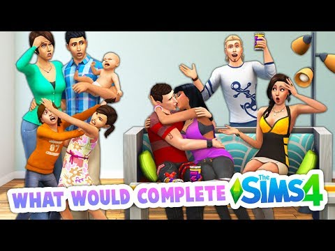 THINGS THAT WOULD COMPLETE THE SIMS 4💚 (IN MY OPINION) thumbnail