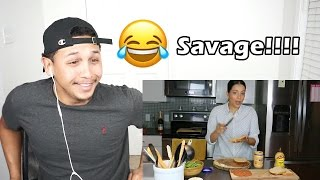She Snapped!! How To Make A Sandwich Reaction!