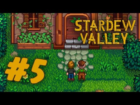 Finally, the first signs of progress! | Stardew Valley #5