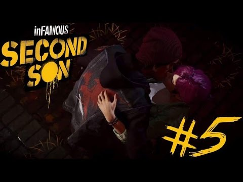 infamous second son romance