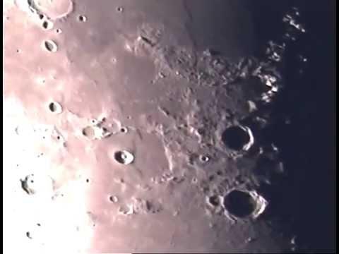 Mysterious Moon. 25 April 2015 5 51pm gamma Meton to Eudoxus