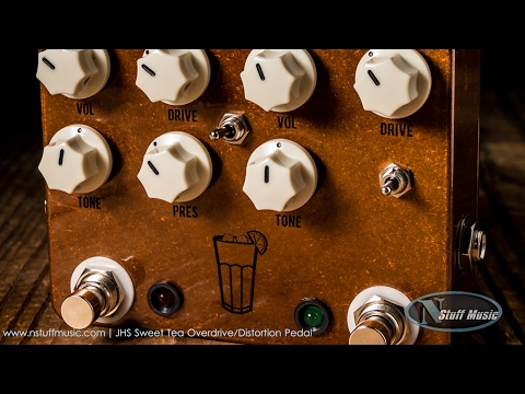 JHS Sweet Tea Overdrive/Distortion Pedal