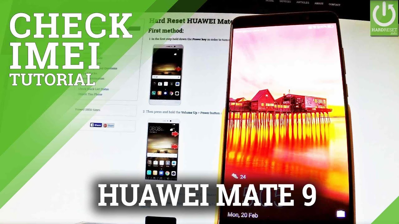 Huawei Warranty & Carrier Checker - IMEI info
