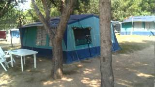 tenten en bungalows op El Templo del Sol