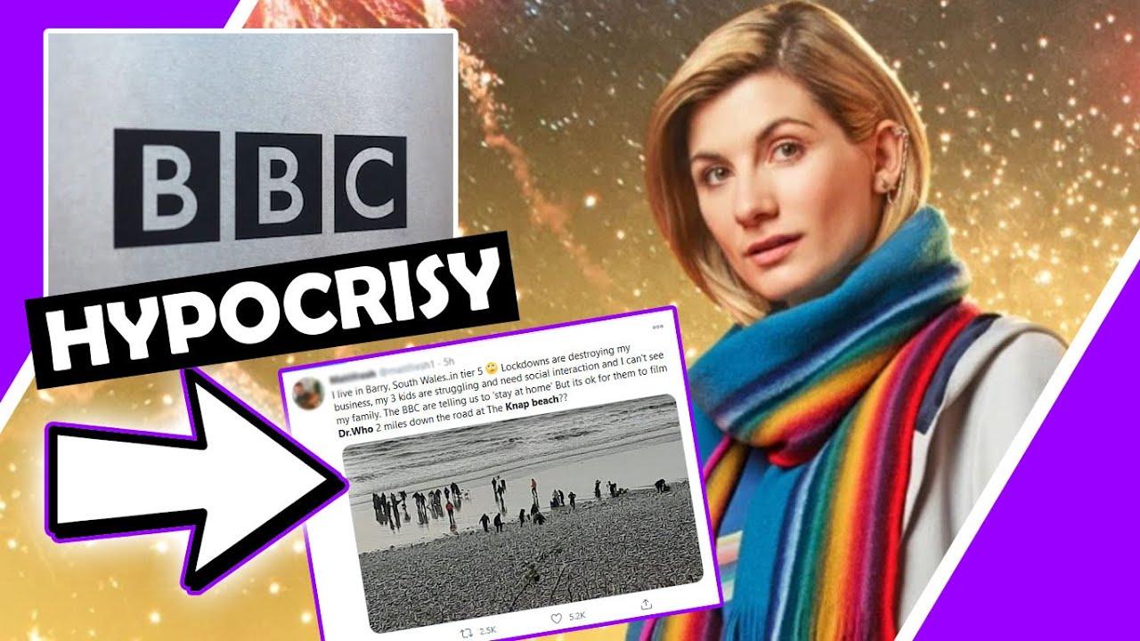BBC HYPOCRISY ? They Say 'Stay At Home' YET FILM DR WHO On Beach / Hugo Talks #lockdown