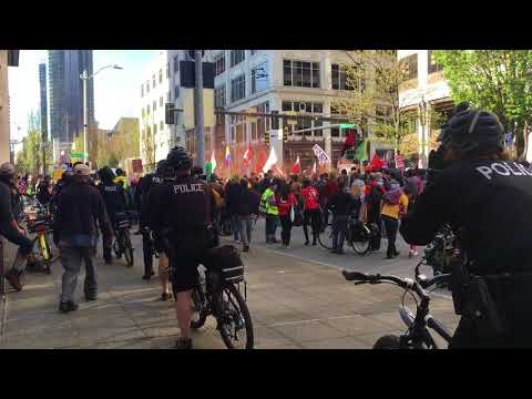 Seattle May Day 2018