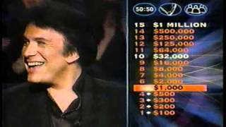 GENE SIMMONS on WHO WANTS TO BE A MILLIONARE (2000)