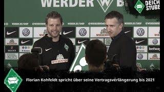 """Kohfeldt über Anfragen anderer Clubs: """"Habe nur mit Werder gesprochen"""""""