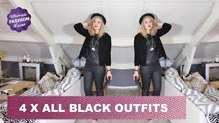 All Black Outfits | Ultimate Fashion Challenge #4 Thumbnail