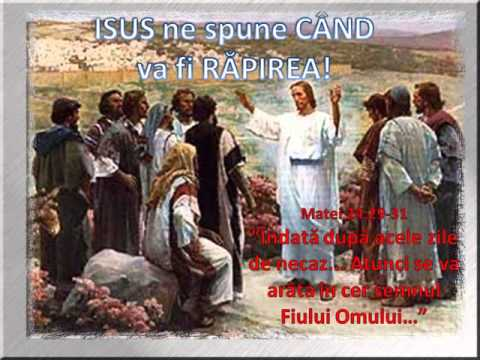 Isus ne spune cand va fi Rapirea, Mat.24:29-31! (Radio Blast)