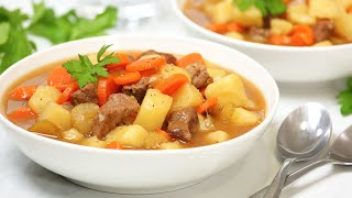 Hearty Beef Stew | Easy + Deli…