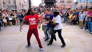 London Street Dance @ Piccadilly Circus, 14 June 2014
