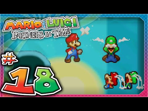Mario and Luigi: Partners In Time - Part 18: The Koopaseum's Shrooboid Brat