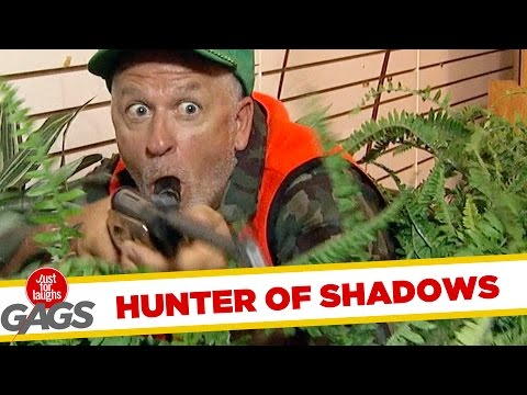 Shooting Shadows Dead Prank - Just For Laughs Gags