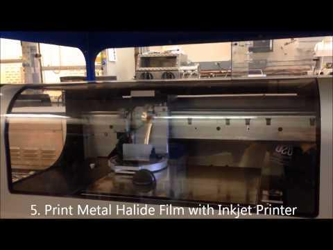 Printed Metal Oxide Thin Film Transistors (no audio)
