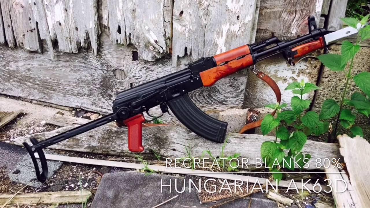Hungarian AK63D built on ReCreator Blanks 80%