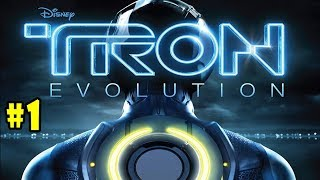 TRON: Evolution - Walkthrough - Part 1 - Reboot (PC HD) [1080p60FPS]